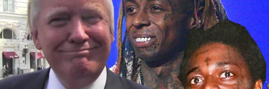 Trump Pardons Lil Wayne & Frees Kodak Black, Weezy Gives Thanks