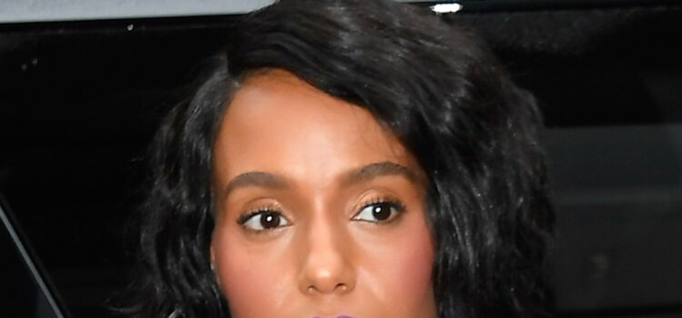 Kerry Washington Deletes Controversial Tweet About DMX and Prince Philip